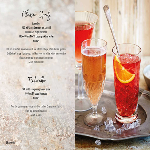 Book cocktails recipe