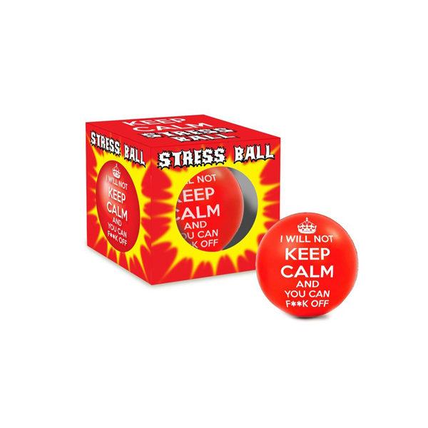 i_will_not_keep_calm_stress_ball